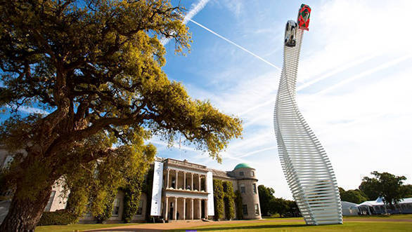 The central feature Goodwood festival of speed