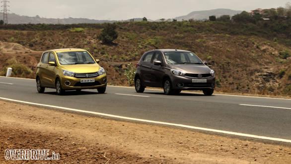 Comparo: Tata Tiago Revotorq vs Maruti Suzuki Celerio DDiS