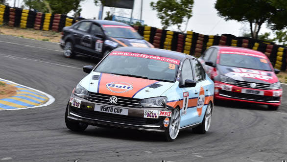 2016 Indian National Racing Championship Round 3: Arjun Narendran wins Race 1 of ITC championship