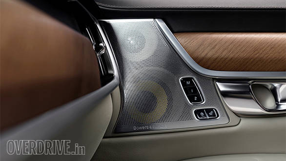 Interior Bowers and Wilkins Door Speakers Volvo S90 1
