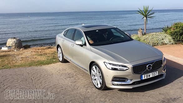 Volvo India Opens Pre Bookings For The New S90 Sedan Overdrive