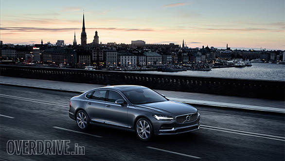 India-bound Volvo S90 first drive review