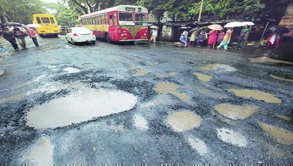 indian express image pothole