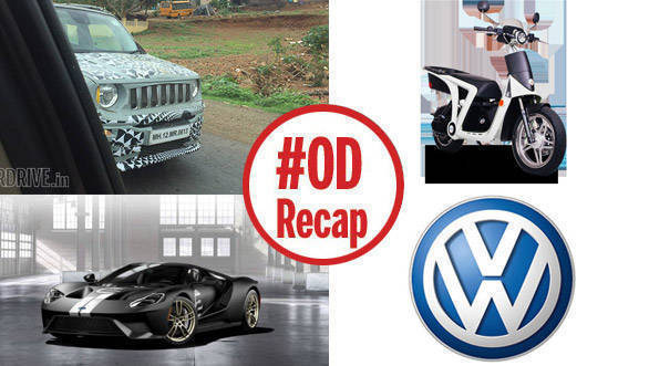 ODRecap: Jeep Renegade spied in India, Ford GT '66 Heritage special edition revealed, and more