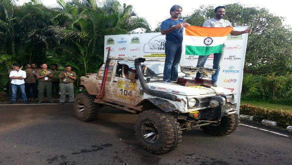 2016 Force Gurkha Rainforest Challenge India: Gurmeet Virdi takes victory