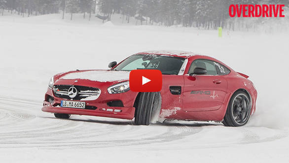 Video: AMG Ice Driving - Feature