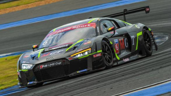 Picariello currently leads the Audi R8 LMS Cup championship