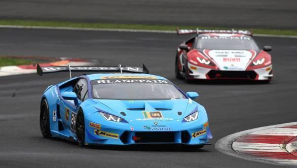 Lamborghini Blancpain Super Trofea Asia: Double podium for Armaan Ebrahim