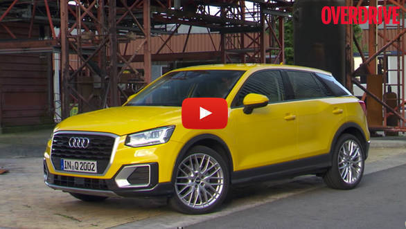 India-bound Audi Q2 review video
