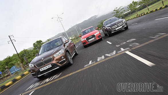 BMW X1 vs Mercedes GLA vs Audi Q3 (26)