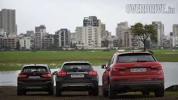 BMW X1 vs Mercedes GLA vs Audi Q3 (31)