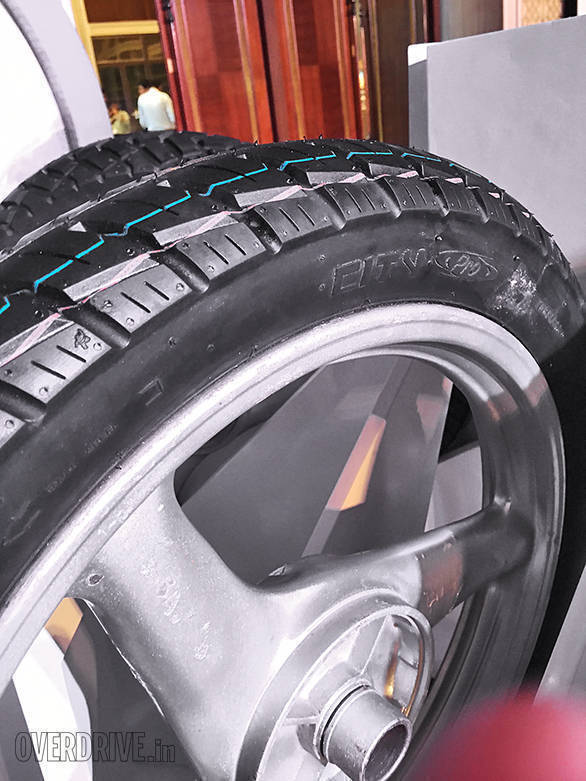 The Michelin City Pro tyres for motorcycles targets offerings of upto 125cc.  Michelin claims that the larger contact area along with the new tread design offer a stronger grip in both dry and wet conditions  - width=