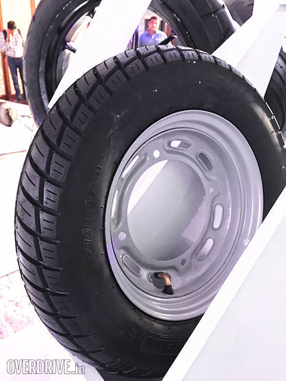 The Michelin City Pro is designed for scooters and motorcycles. Available in a range between 14 and 18 inches, the City Pro is offered in two speed ratings - P for upto 150kmph and S for upto 180kmph