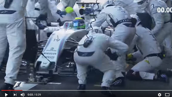 Video worth watching: Fastest Formula 1 pitstop