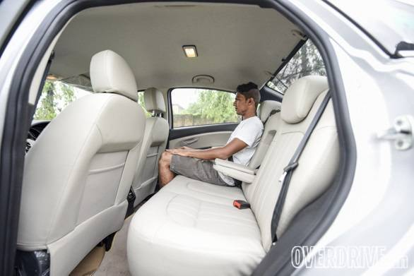 Space at the rear, especially the headroom is at a premium if you are anything more than 6ft