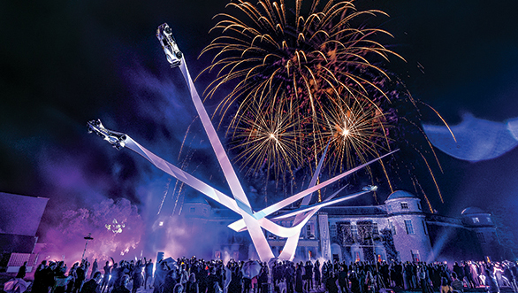 A firecracker of an event, the Goodwood Festival of Speed is!