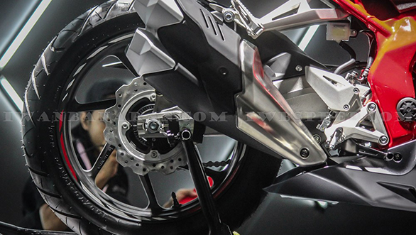 Honda CBR250RR rear detail
