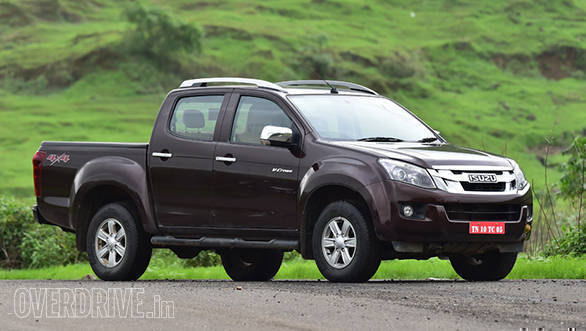 Isuzu pickup truck price india