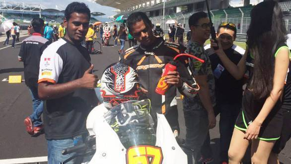 Malaysian Superbike Championship: Podium for K Rajini at Sepang
