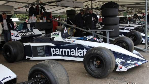 The Brabham BT52 that took Nelson Piquet to the title in 1983