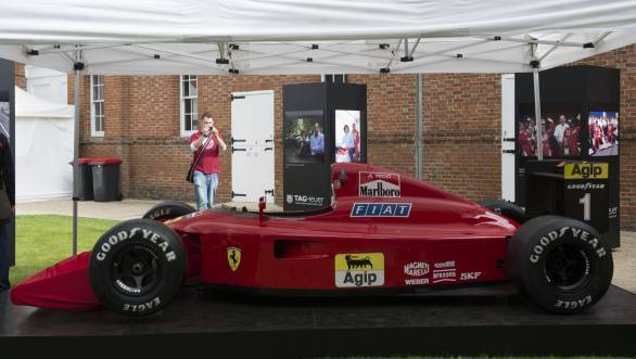 Here's the Ferrari 641, Chandhok's pick as one of the most beautiful F1 cars ever designed. Although this picture is from Goodwood a couple of years ago. - width=