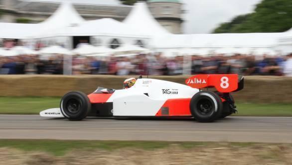 Niki Lauda's 1984 championship winning McLaren TAG MP4/2