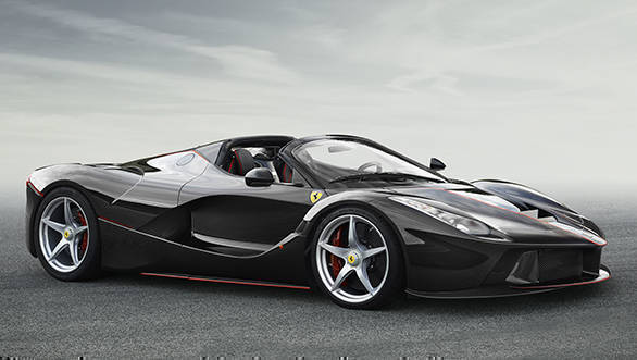 Ferrari reveals open-top LaFerrari ahead of 2016 Paris Motor Show