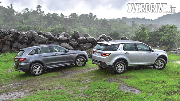 Mercedes GLC vs Range Rover Discovery Sport (11)