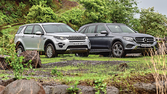 2016 Land Rover Discovery Sport TD4 HSE vs Mercedes-Benz GLC 220d