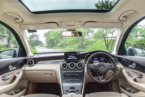 The GLC features a more car-like and luxurious cabin