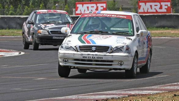 Victor in the IJTC class, Ananth Pithawala leads the pack