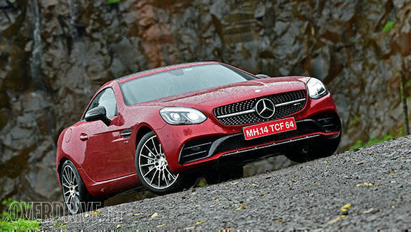 Mercedes-AMG SLC43 road test review