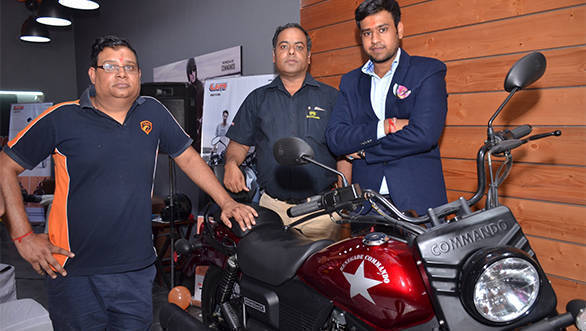 UM Motorcycles Gurugram dealership