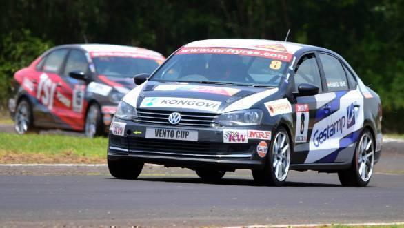 2016 Volkswagen Vento Cup: Ishaan Dodhiwala wins Race 2 at MMRT