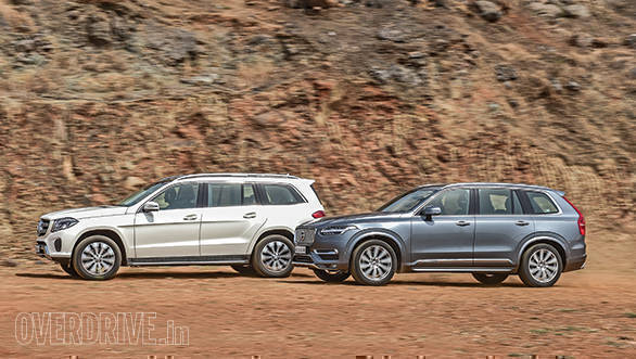 2016 Volvo XC90 vs 2016 Mercedes-Benz GLS