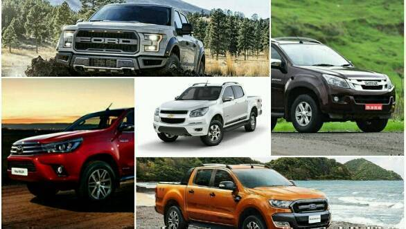 Pick-ups that should come to India after the Isuzu D-Max V-Cross