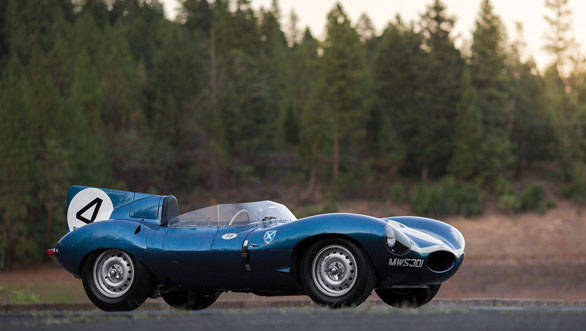 1955 Jaguar D-Type 2016-pebble-beach-three