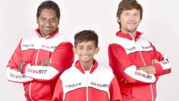National Karting: Ruhaan Alva signed by Birel ART