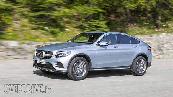 2016 Mercedes Benz GLC Coupe first drive review Overdrive