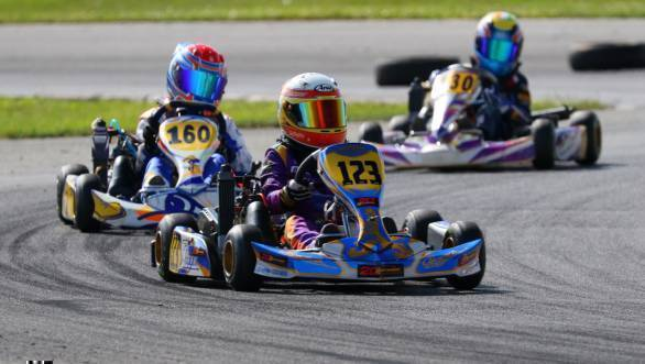 2016 Rotax Euro Finale: Steep learning curve for Shahan