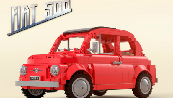 Lego Ideas website showcases project Fiat 500 F