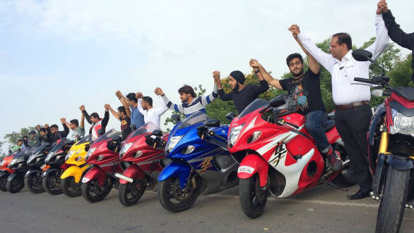 Suzuki India celebrate World Hayabusa Day across eight cities