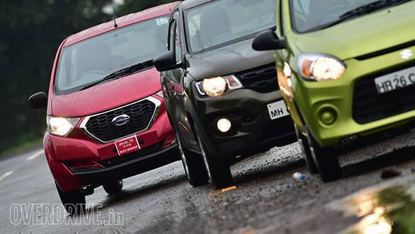 Alto 800 vs Renault Kwid vs Datsun redi-Go (20)