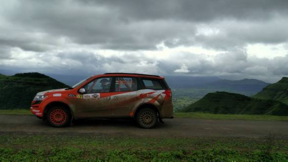 Amittrajit Ghosh and Ashwin Naik finished third despite suffering punctures in three stages