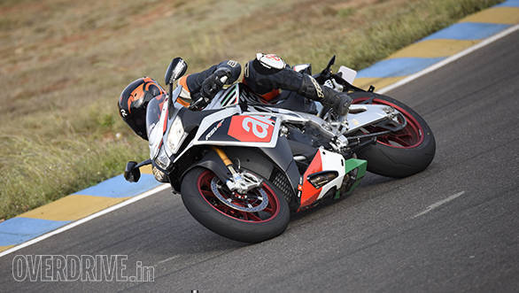 Aprilia RSV4 RF first ride review