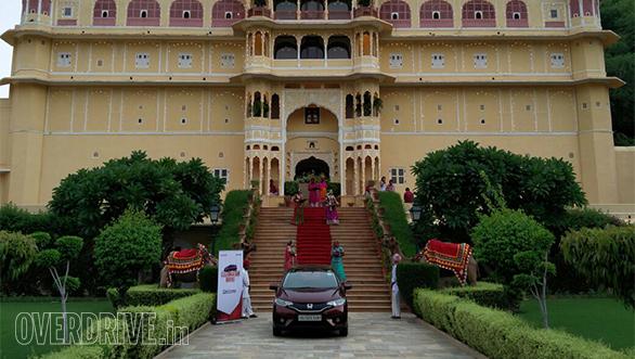 Honda Jazz anniversary drive in Jaipur