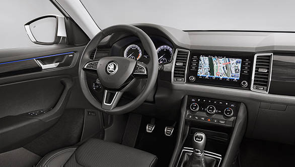 Skoda Kodiaq interior images revealed
