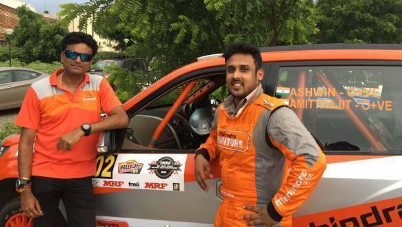 Ashwin Naik and Amittrajit Ghosh, winners of INRC Round 1