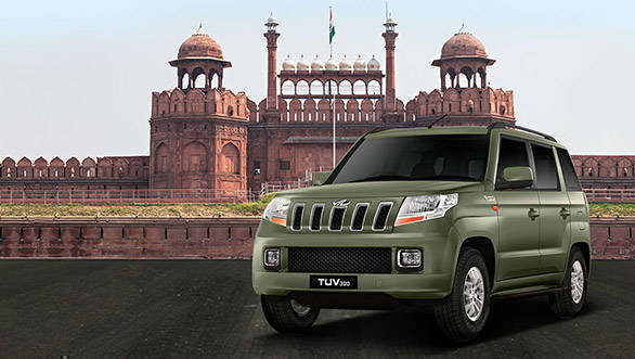 Mahindra TUV300 launched with new bronze green colour