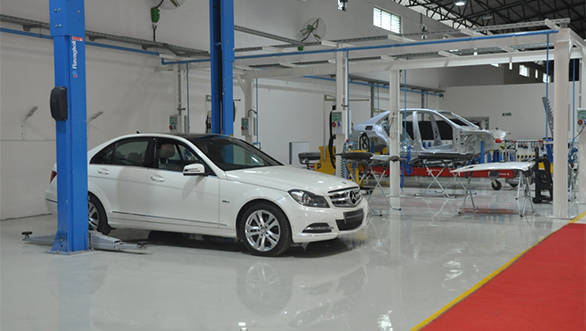 Mercedes-Benz India body repair training facility inaugurated in Chinchwad